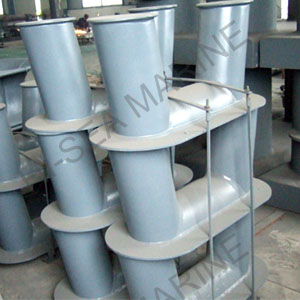 SH TYPE Welded Inclined Bollard
