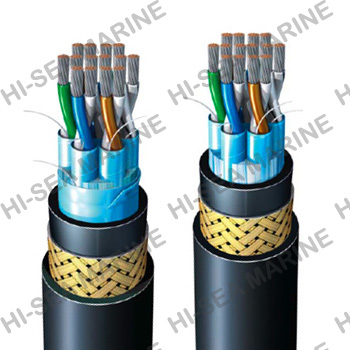 Fire-resistant telecommunication cable (Braided)