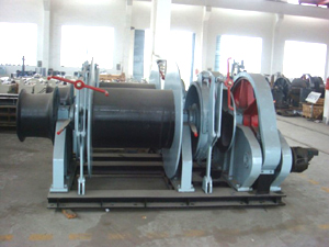 Hydraulic Combined Windlass/Mooring Winches
