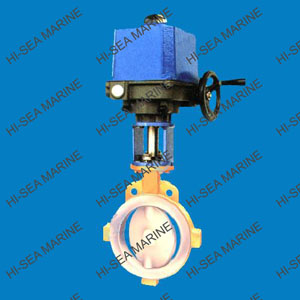 Pneumatic/Electric fluorin lining butterfly valve