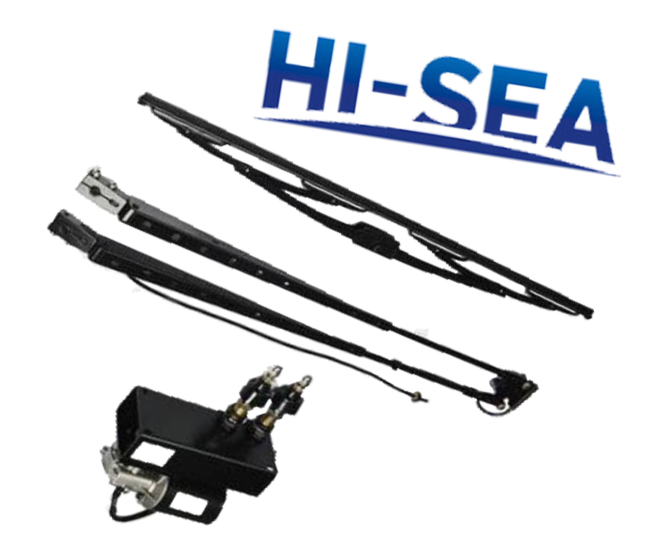 Pantograph-armed Electric Window Marine Wiper