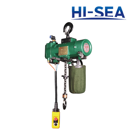 0.5T Pneumatic Chain Hoist