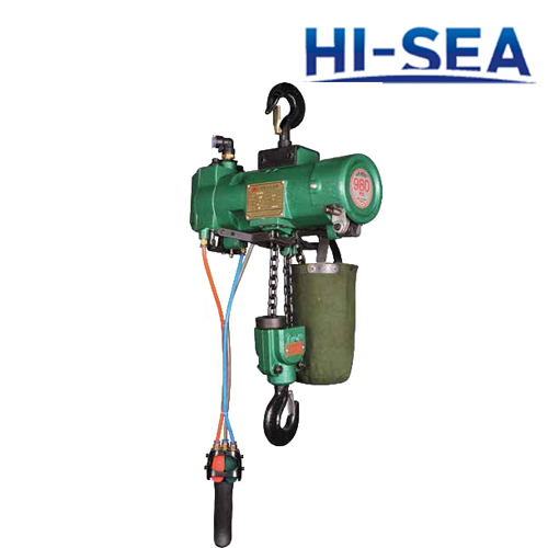 1T Single Hook Pneumatic Hoist