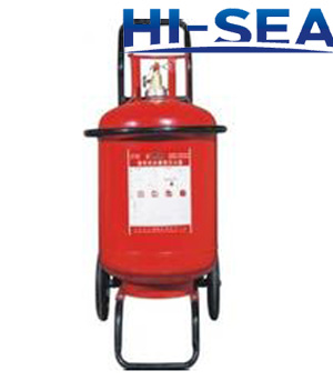 100L foam wheeled fire extinguisher