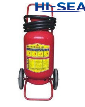 100L wheeled water based fire extinguisher