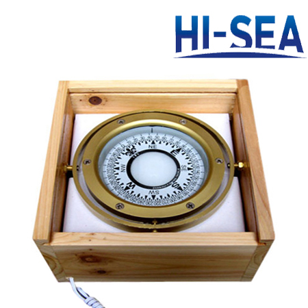 100mm Plastic Illuminated Marine Compass