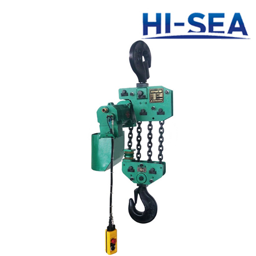 10T Industrial Pneumatic Hoist with Trollely