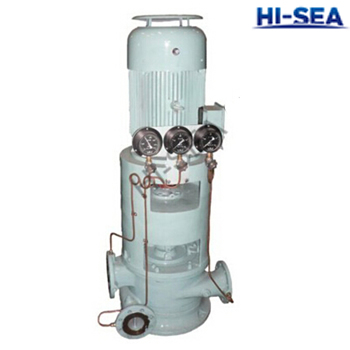CLN Marine Vertical Double-stage Double-outlet Centrifugal Pump