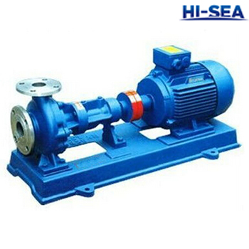 RY Marine Air-cooled Hot Oil Centrifugal Pump