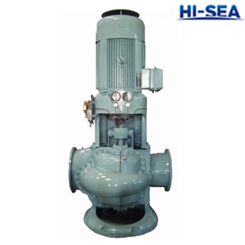 CSL Marine Vertical Double-suction Middle-open Centrifugal Pump