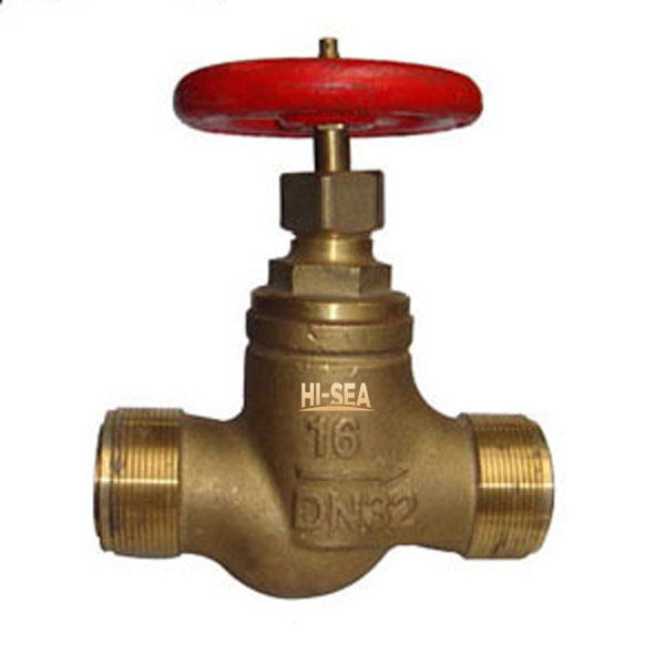 Marine Bronze Low Pressure Male Screw Thread Stop Check Valve GB/T1953-1984