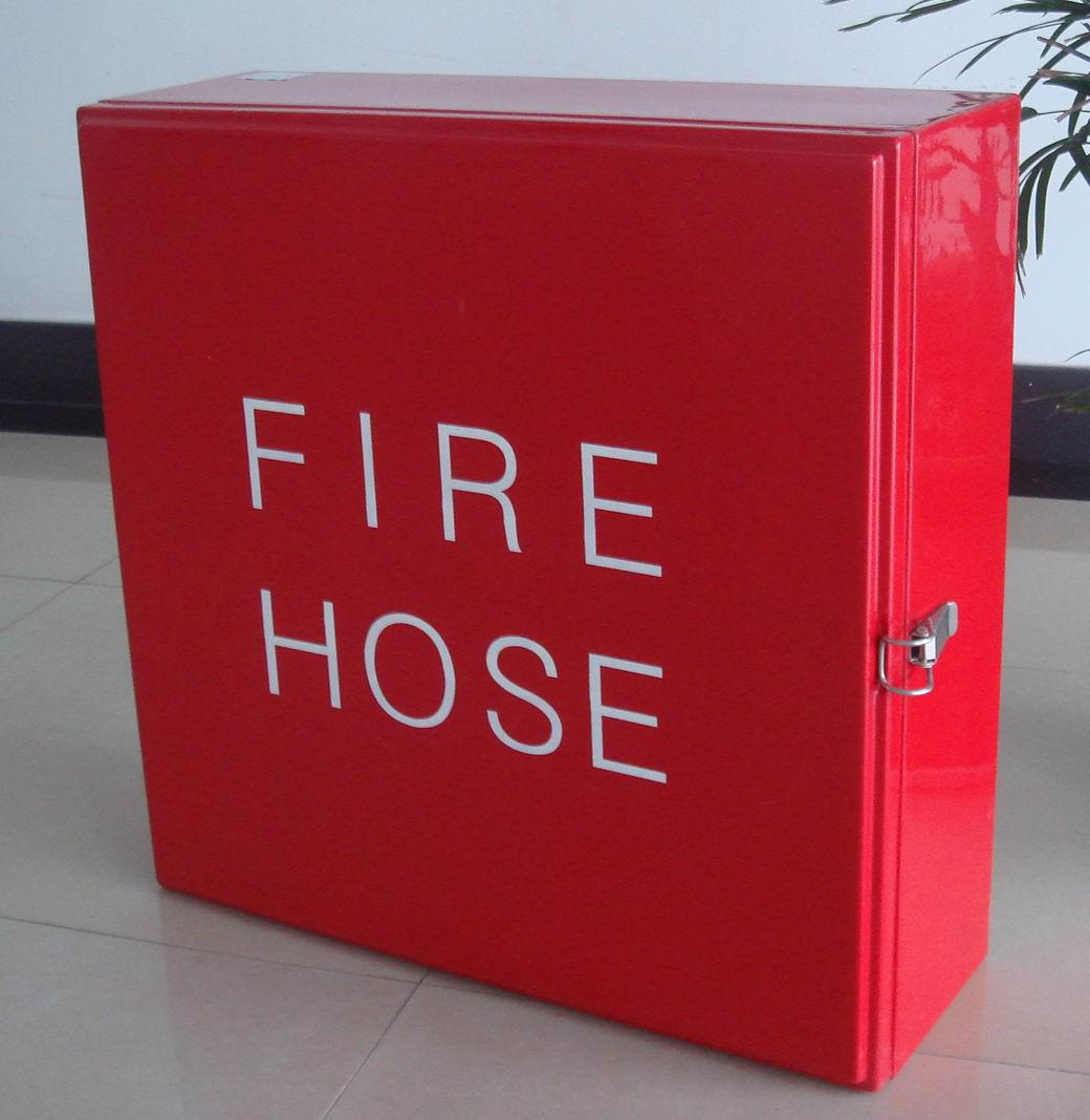 Single-door FRP Fire Hose Box