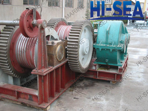 200kN Electric Friction Winch