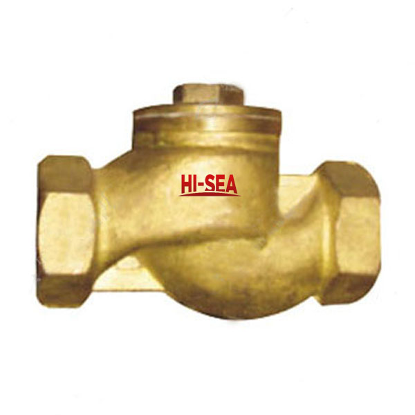 Marine Bronze Femal Screw Thread Lift Check Valve CB/T310-1999