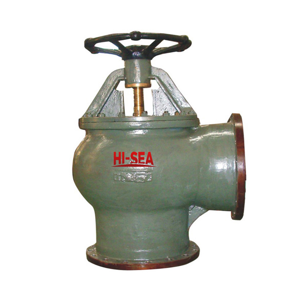 Marine Cast Steel Suction Sea Valve GB2029-1980