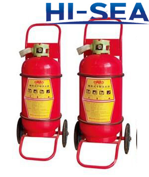 25 L foam wheeled fire extinguisher