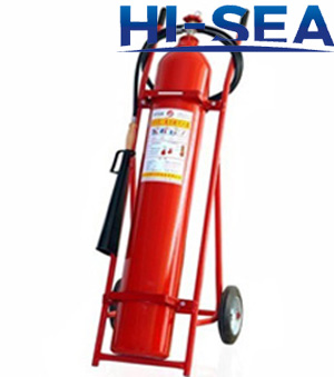 25 kg wheeled CO2 fire extinguisher
