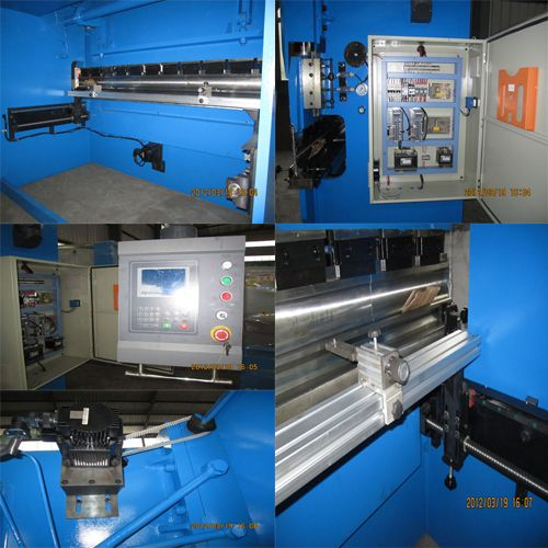 2-sets-tandem Hydraulic Sheet Metal Bending Machine