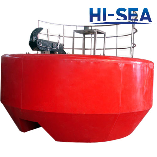 Polyurea Foam Filled Mooring Buoy