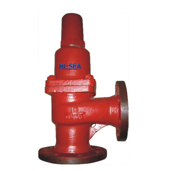 Marine Flanged Angle Safety Valve CB304-1992