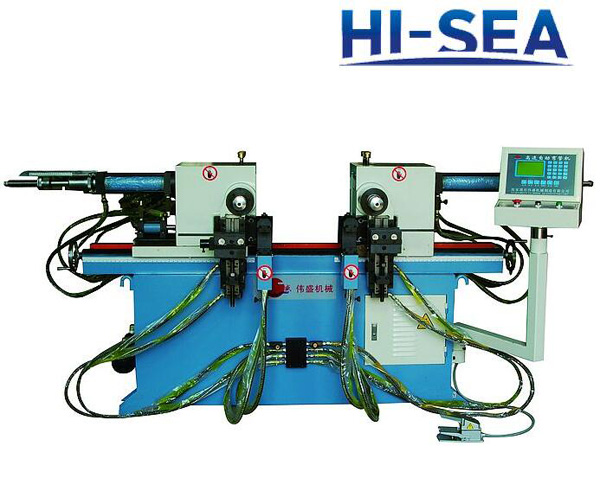 38A Double Head Hydraulic Pipe Bending Machine