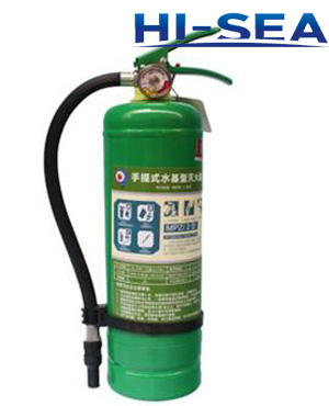 4L stored-pressure Water Fire Extinguisher