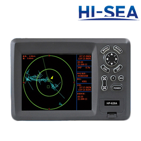 5.6-Inch HD Liquid Crystal Display Chartplotter