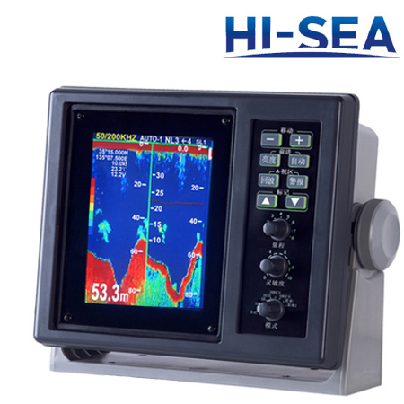 5.6-Inch Depth Sounder And Fish Finder Combo