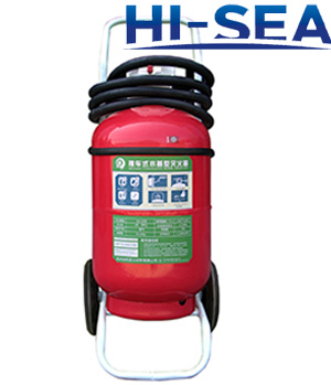 50 L foam wheeled fire extinguisher