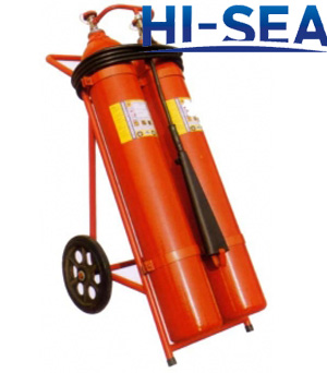 50 kg wheeled CO2 fire extinguisher