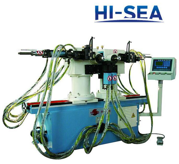 50A Double Head Hydraulic Pipe Bending Machine