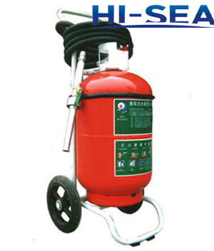 50L wheeled water based fire extinguisher