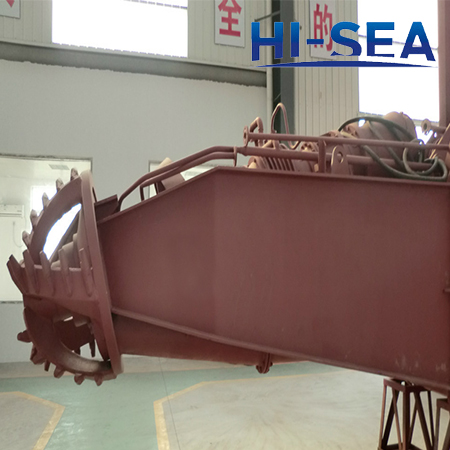 Dredge Cutter Ladder Front Part