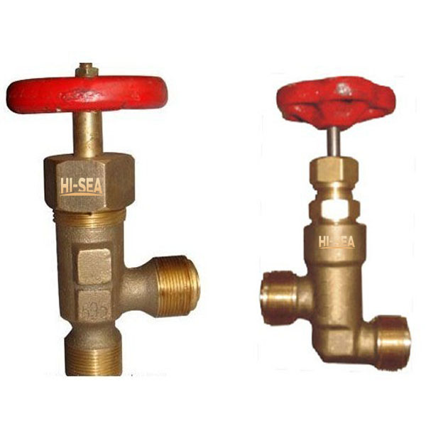 Marine Bronze Male Screwed Thread Stop Check Valve GB/T596-1983
