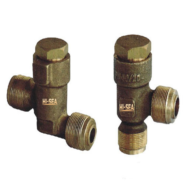 Marine Bronze Male Screw Thread Check Valve GB/T597-1983