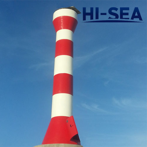 5m to 20m Glass Reinforced Plastic Light Beacon