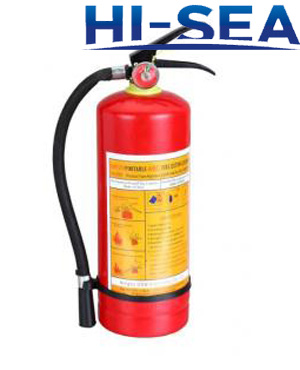 6L portable water based fire extinguisher