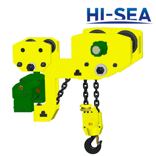 6T Low Headroom Air Chain Hoist