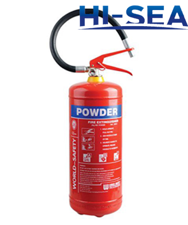 6kg ABC dry chemical powder fire extinguisher