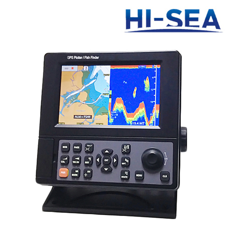 7-Inch LCD Chartplotter and Fish Finder Combo