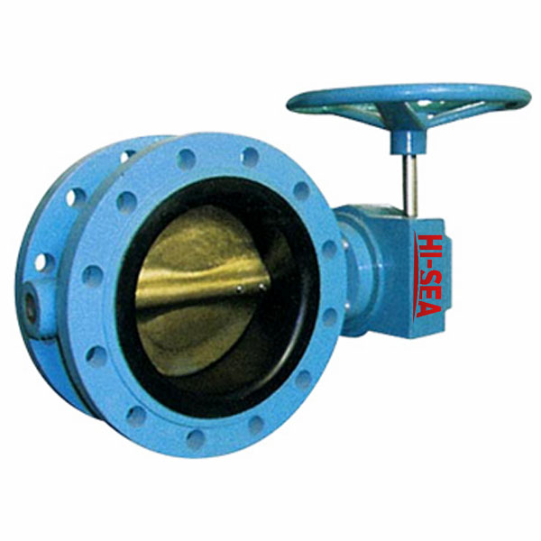 Marine Double Flanged Type Butterfly Valve JIS F7480 5k/10k