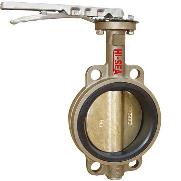 Marine Wafer Type Butterfly Valve JIS F7480 5k/10k