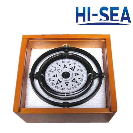 75mm Plastic Marine Liquid-Filled Compass