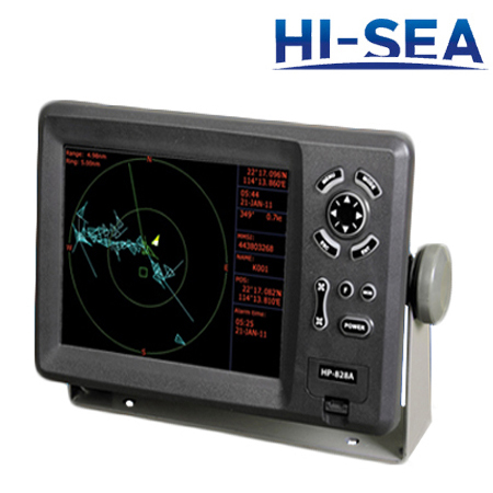 8-Inch Color Display GPS Plotter