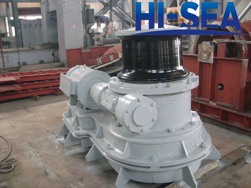 80kN Electric Vertical Mooring Capstan