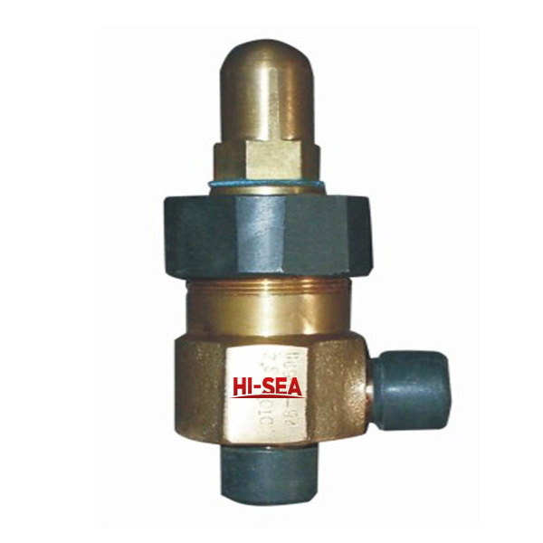 Marine Bronze Male Screw Thread Angle Safety Valve CB907-1994