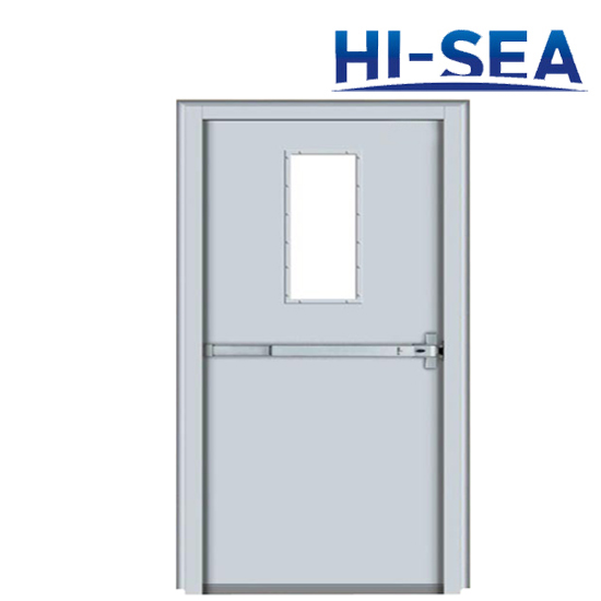 A60 Fireproof Single -Leaf Steel Door