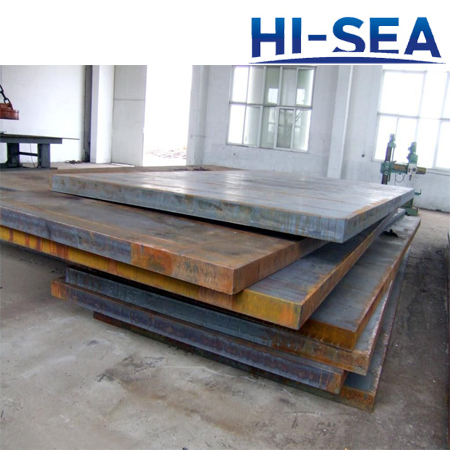 AB DQ56 Shipbuilding Steel Plate