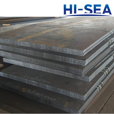 AB FH40 Shipbuilding Steel Plate