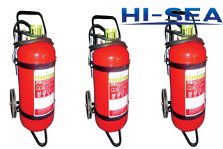 Dry powder wheeled fire extinguisher MFZ100